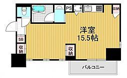BLANC北堀江[6階]の間取り