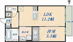 高井田駅 6.4万円