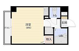 福岡県福岡市南区高宮3丁目の賃貸マンションの間取り
