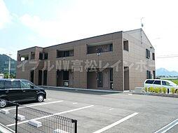 香川県高松市上林町の賃貸マンションの外観