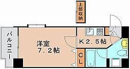 アクタス博多駅東[3階]の間取り