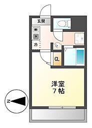 Ma Maion Premier(マ・メゾン・プルミエ)[6階]の間取り