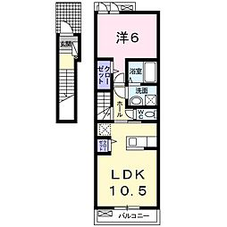 TTE[2階]の間取り