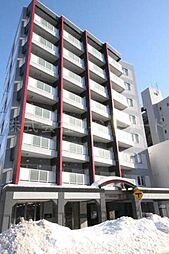 北海道札幌市中央区北四条西13丁目の賃貸マンションの外観