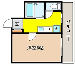 兵庫県神戸市東灘区住吉宮町7丁目の賃貸マンションの間取り