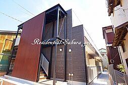 神奈川県鎌倉市腰越3丁目の賃貸アパートの外観