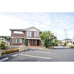 茨城県水戸市河和田町の賃貸アパートの外観