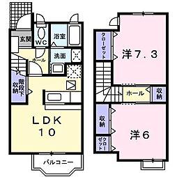 シャルマン フィ−レ D[0102号室]の間取り