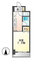 リヴェール白壁[11階]の間取り