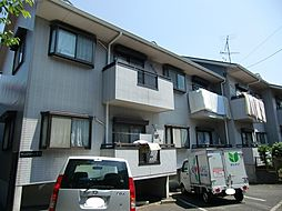 東京都調布市国領町7丁目の賃貸アパートの外観