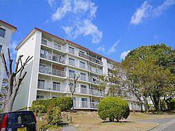 奈良県生駒市東生駒月見町の賃貸マンションの外観