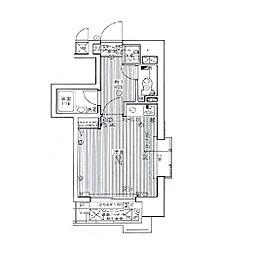 ライオンズマンション六本松第3[12階]の間取り