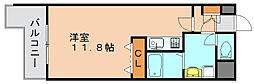 エース五番館[11階]の間取り