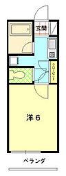 マ・メゾン6[1階号室]の間取り
