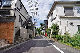 前面道路(北東)