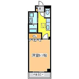 広島県東広島市黒瀬切田が丘 3丁目の賃貸アパートの間取り