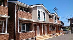 新潟県新潟市江南区砂岡2丁目の賃貸アパートの外観