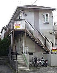 東京都町田市成瀬台1丁目の賃貸アパートの外観