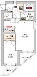横浜市営地下鉄ブルーライン 上永谷駅 徒歩5分の賃貸マンション 5階1LDKの間取り