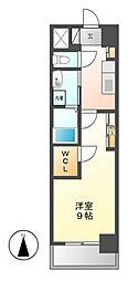 グランドソレイユ名駅[10階]の間取り
