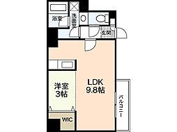 LST表町III[7階]の間取り