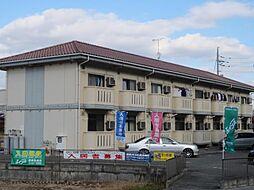 広島県東広島市黒瀬町菅田の賃貸アパートの外観