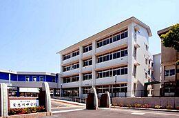 中学校貴志川中学校まで1945m