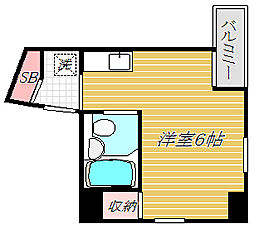 メゾン・ド・ヴィジオン[5階]の間取り