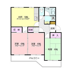ウィンローレルマンション[2階]の間取り