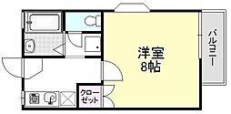 ボンマレ[201号室]の間取り