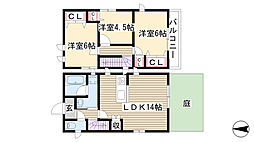 [テラスハウス] 愛知県名古屋市名東区本郷3丁目 の賃貸【/】の間取り