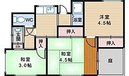 浅香駅 5.0万円