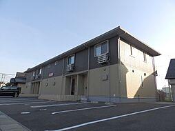 鳥取県鳥取市桂木の賃貸アパートの外観