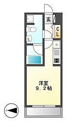 グラン・アベニュー西大須[5階]の間取り