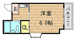 BFレジデンス小阪[5階]の間取り