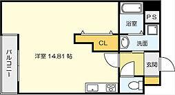 サンシャインIII[6階]の間取り