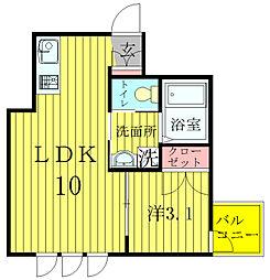 Room328[2階]の間取り