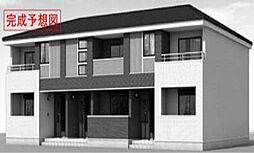 兵庫県高砂市米田町米田新外新開の賃貸アパートの外観