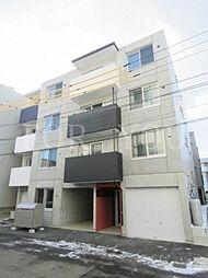 北海道札幌市東区北二十三条東10丁目の賃貸マンションの外観