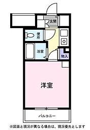 びゅうリエット北浦和[2階]の間取り