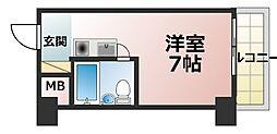 ライオンズマンション新大阪第5[10階]の間取り