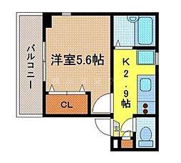 アドレス横浜[2階]の間取り