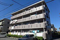 愛知県安城市横山町浜畔上の賃貸マンションの外観