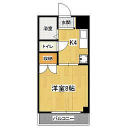 ルピナス321[3階]の間取り