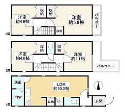 出屋敷駅 2,680万円