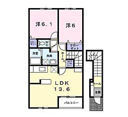 エアリーメゾン 3[2階]の間取り