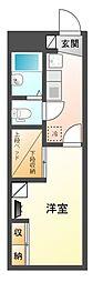 レオパレス星宮[2階]の間取り