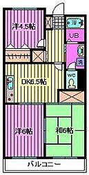 アネックスマンション[203号室]の間取り