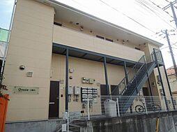 神奈川県横浜市旭区中沢1丁目の賃貸アパートの外観
