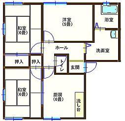 ラフォーレ山川5 201号室[2階]の間取り